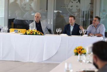 Μελισσανίδης: «Είμαι φαν του Λουτσέσκου, θα δούμε για Χιμένεθ -Στα 105 εκατ. ευρώ το νέο γήπεδο, προπονητικό και τα γραφεία»