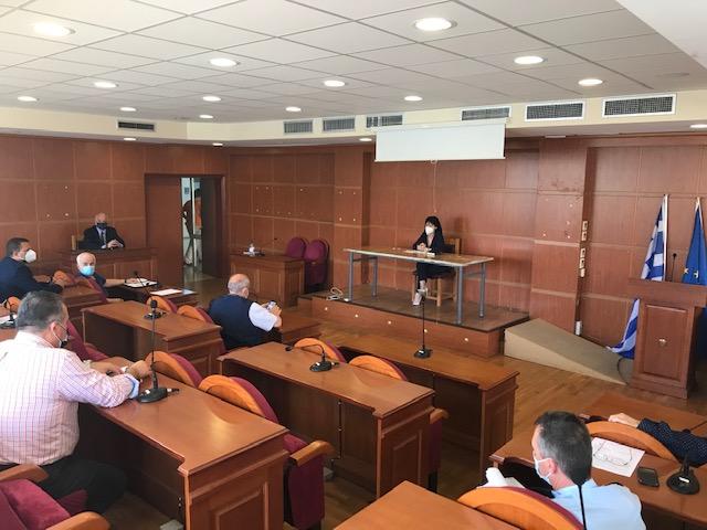 Έκτακτη σύσκεψη στην Π.Ε. Αιτωλοακαρνανίας για την έξαρση κρουσμάτων κορωνοϊού