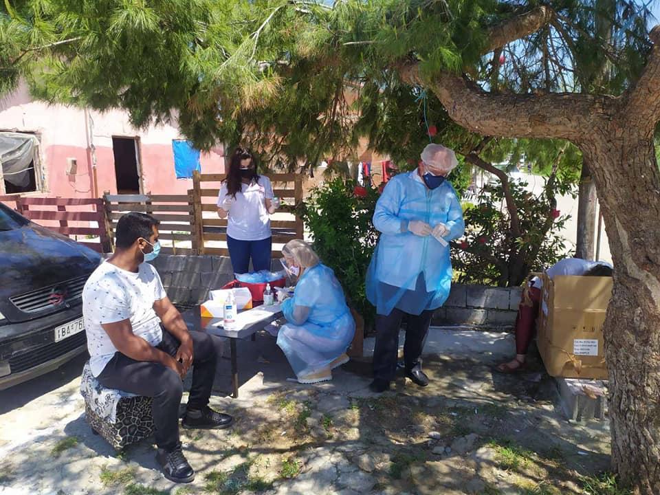 Κορωνοϊός: Τέσσερα θετικά rapid στις δειγματοληψίες στο Νεοχώρι