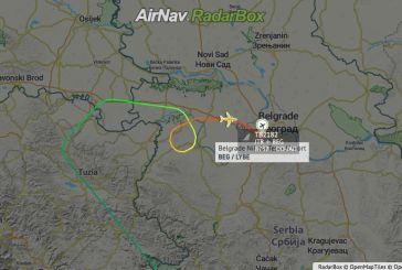 Πτήση-θρίλερ: Αεροσκάφος από Σαντορίνη έκανε αναγκαστική προσγείωση στο Βελιγράδι, λόγω διαρροής καυσίμων