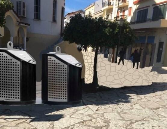 Το Πράσινο Ταμείο ενέκρινε την υπογειοποίηση των κάδων στη Ναύπακτο