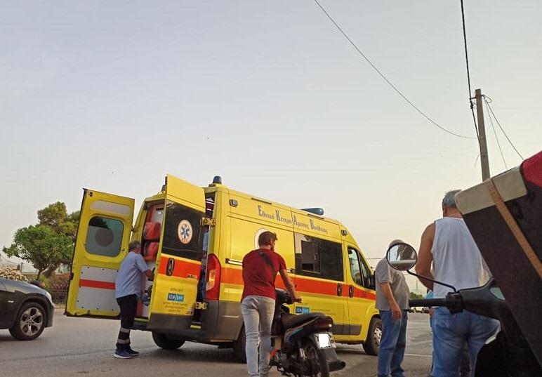 Ντελιβεράς στο Νοσοκομείο από νέο τροχαίο στο Αγρίνιο