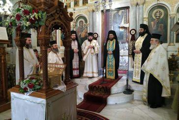 Η Αγία Τριάδα Αγρινίου υποδέχθηκε τμήμα λειψάνων του Αγίου Ανδρέα του εν Χαλκιοπούλοις