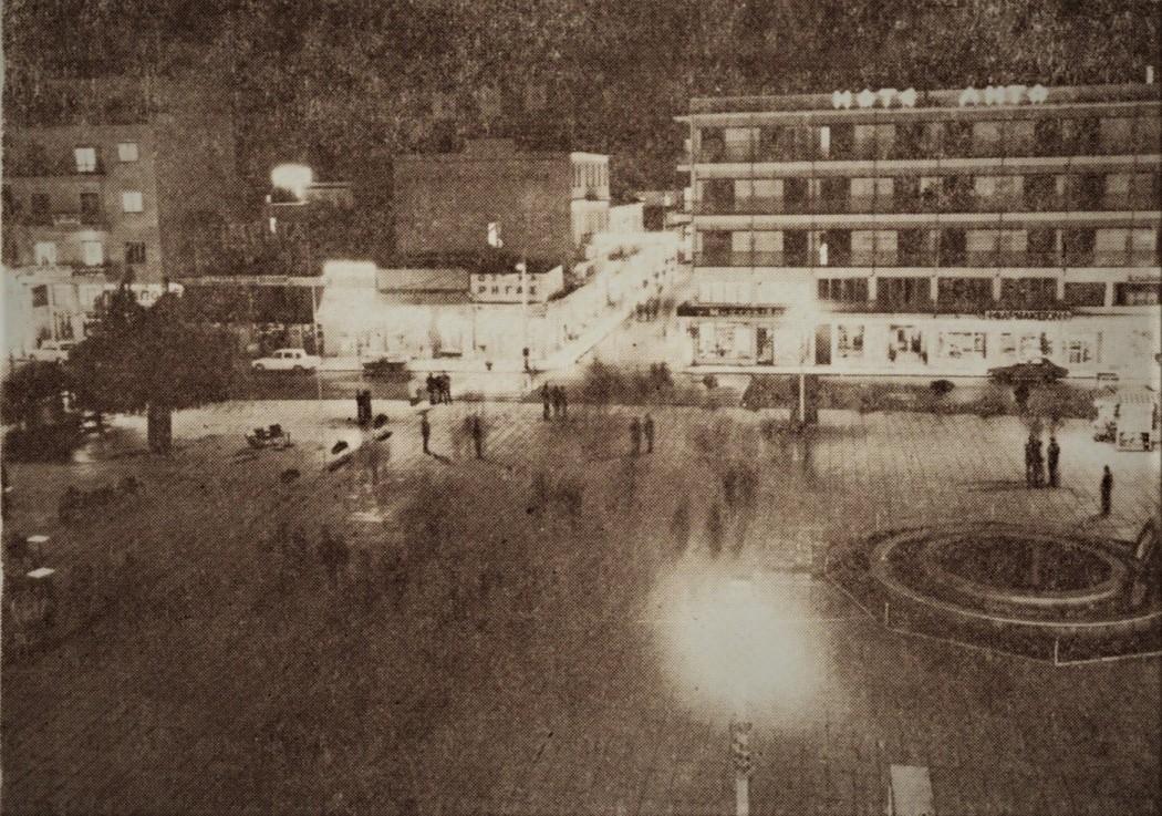 Αγρίνιο: Η κεντρική πλατεία μια νύχτα του '70