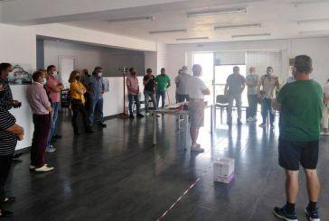 Συνάντηση για θέματα ασφάλειας και υγείας με εργαζόμενους στο Δήμο Ναυπακτίας