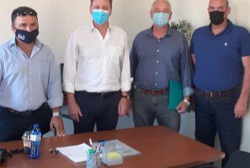 Συνάντηση ελαιοπαραγωγών του Αιτωλικού με Λιβανό