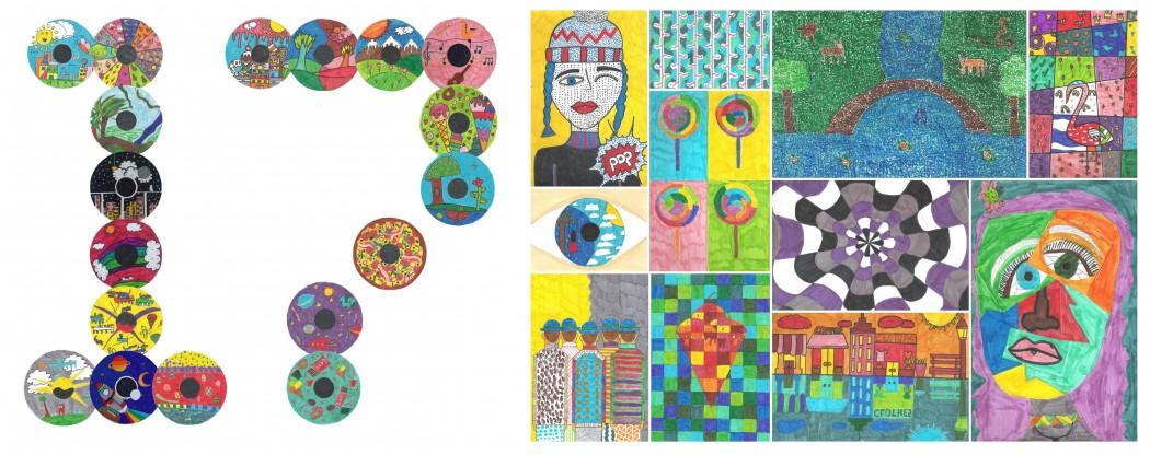 Ψηφιακή έκθεση έργων ζωγραφικής των μαθητών του 17ου Δημοτικού Σχολείου Αγρινίου