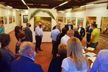 Μεσολόγγι: Εγκαινιάστηκε η έκθεση του Νώντα Ρεντζή στο Τρικούπειο