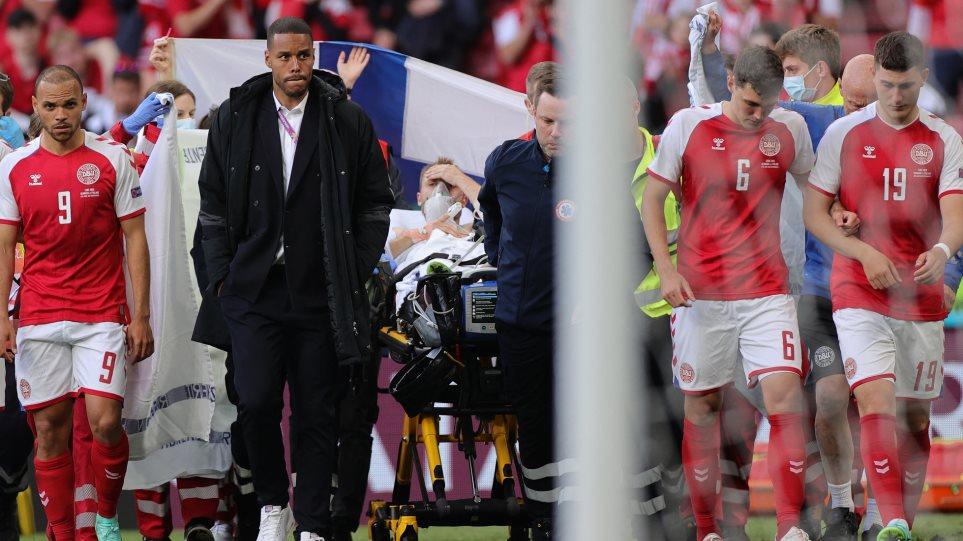 «Δεν τα παρατάω» λέει ο Έρικσεν μέσα από το νοσοκομείο – Θέλει να μάθει τι του συνέβη