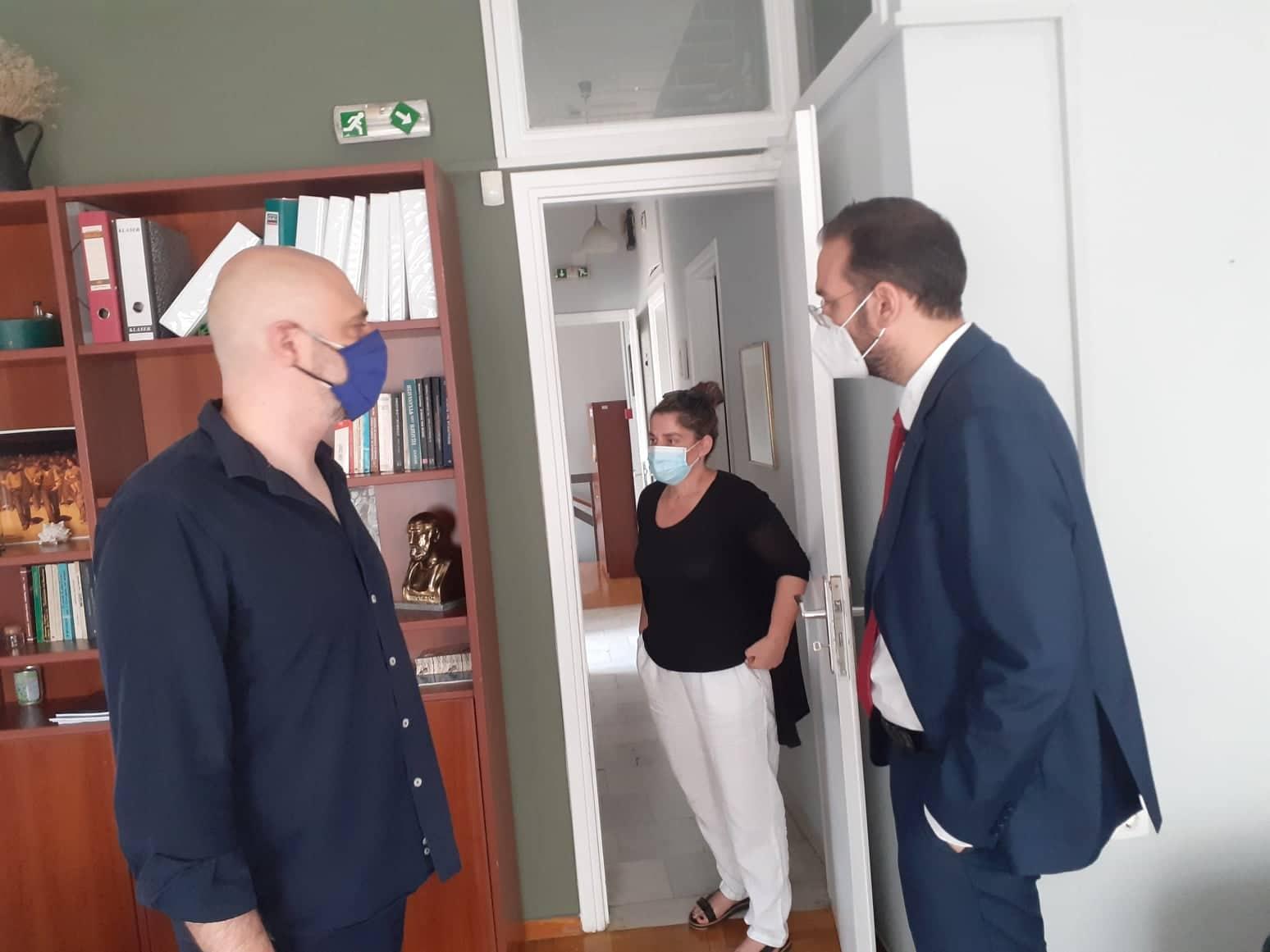 Tο προσεχώς αναβαθμιζόμενο ενεργειακά Κέντρο Ψυχικής Υγείας Αγρινίου επισκέφθηκαν Φαρμάκης- Δημητρογιάννης