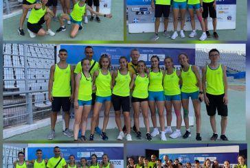 Εξαιρετικές εμφανίσεις από τους αθλητές του ΓΑΣ Αγρινίου στο Πανελλήνιο Πρωτάθλημα Στίβου Κ16