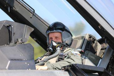 Στρατηγός Φλώρος: Πέταξε με F-16 πάνω από το μνημείο του Θέρμιου Νικόλαου Σιαλμά στον Άγιο Ευστράτιο