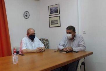 Συναντήσεις με γιατρούς στην Αιτωλοακαρνανία είχε ο πρόεδρος του Πανελλήνιου Ιατρικού Συλλόγου