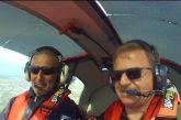Πτώση αεροσκάφους στην Ηλεία: Συνετρίβη μόλις 100 μέτρα από το πατρικό του