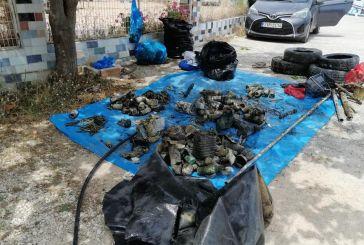 Εθελοντικός καθαρισμός στα λιμάνια της Βόνιτσας
