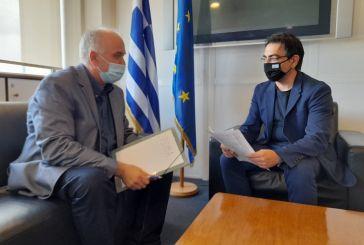 Ζητήματα των Ρομά στο επίκεντρο της συνάντησης Λύρου-Σταμάτη