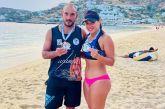 Δεύτερη η Ναυπάκτια Μοσχούλα Πατακοπούλου στο Πανελλήνιο πρωτάθλημα beach volley