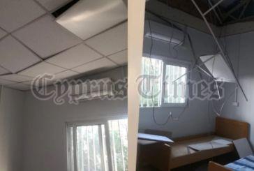 Πέρασε ελικόπτερο και έπεσε…. οροφή σε νοσοκομείο στην Κύπρο -«Αν ήταν ασθενείς μέσα, θα μιλούσαμε για νεκρούς»