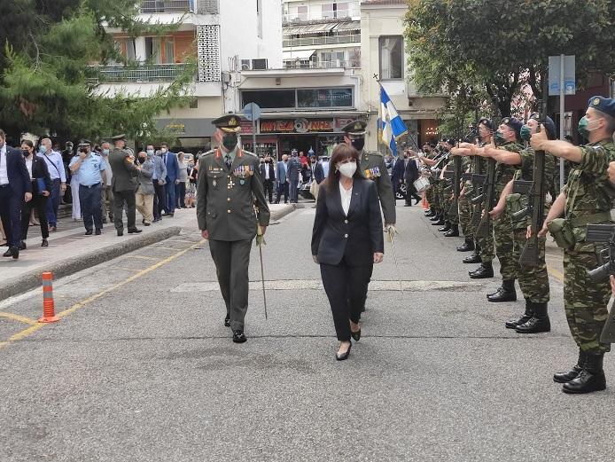 Η Προέδρος της Δημοκρατίας στο Αγρίνιο (φωτό-video)