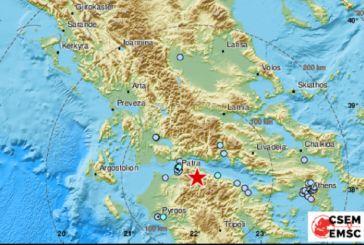 Σεισμός 4,8R κοντά στο Αίγιο – Αισθητός και στην Αιτωλοακαρνανία