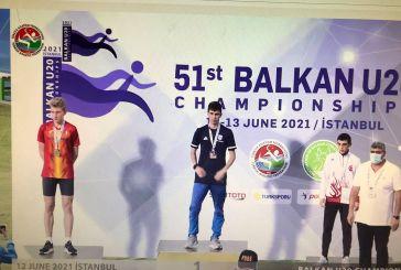 «Χρυσός» ο Αγρινιώτης Νίκος Σταμούλης στο βαλκανικό πρωτάθλημα στίβου Κ20