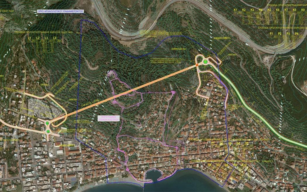 Ο Δήμος Ναυπακτίας παρέλαβε την προμελέτη για το τούνελ του Κάστρου Ναυπάκτου