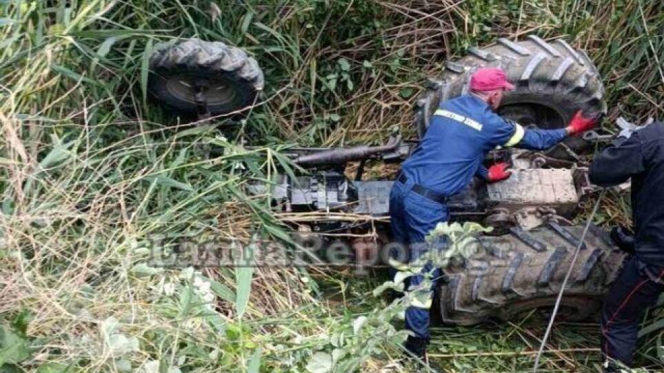 Σώθηκε από θαύμα 17χρονος αγρότης που καταπλακώθηκε από τρακτέρ στη Φθιώτιδα