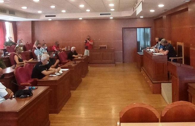 Έκτακτη συνεδρίαση του Συντονιστικού  ΠΕ Αιτωλοακαρνανίας  υπό την Μαρία Σαλμά