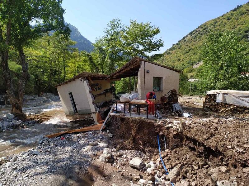 Από το Δήμο Αργιθέας το πρώτο έργο συλλογής και επαναχρησιμοποίησης φερτών υλών από φυσικές καταστροφές