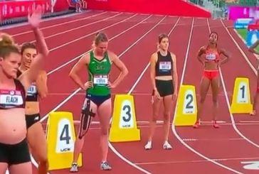 Έγκυος αθλήτρια αγωνίστηκε στα προκριματικά για τους Ολυμπιακούς Αγώνες