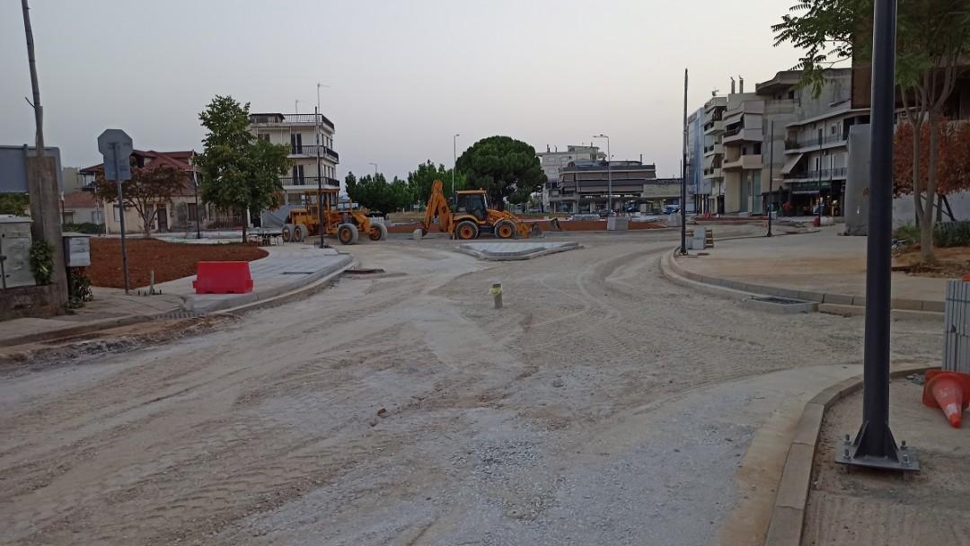 Αγρίνιο: Κυκλοφοριακές ρυθμίσεις στον κόμβο Τσίγκα μέχρι 15 Αυγούστου λόγω των εργασιών στην Χ. Τρικούπη