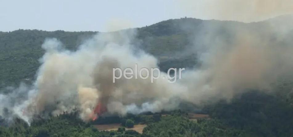 Πάτρα: Κλειστή η Περιμετρική λόγω της πυρκαγιάς – Εκτροπή οχημάτων