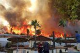 Φωτιά στην Αχαΐα: Μέσω ε.ο. Ναυπακτου-Ιτέας η κίνηση των οχημάτων για Αθήνα