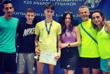 Πρωτιά στα 5χλμ για τον Αγρινιώτη Νίκο Σταμούλη στο πανελλήνιο Πρωτάθλημα στίβου Κ20 της Θεσσαλονίκης