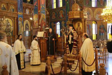Ναύπακτος: Η εορτή του Αγίου Σωφρονίου στο νέο παρεκκλήσιό του