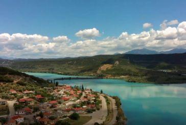 Βίντεο που μαγεύει: Εντυπωσιακά εναέρια πλάνα από την τεχνητή λίμνη Στράτου και το Ματσούκι