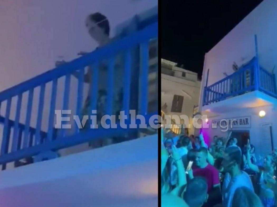Μύκονος: «Χορευταρού» γιαγιά… ξεσαλώνει στο μπαλκόνι της με μουσική από κορονοπάρτι