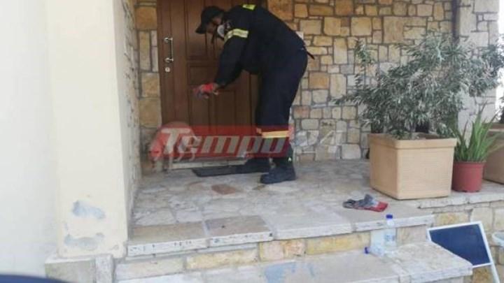 Φωτιά στην Αχαΐα: Η κίνηση πυροσβέστη που προκαλεί συγκίνηση