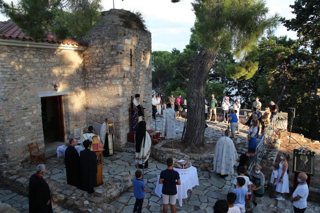 Eορτή του Προφήτη Ηλία και επέτειος εκλογής και χειροτονίας του Μητροπολίτη Ιεροθέου στο Κάστρο Ναυπάκτου