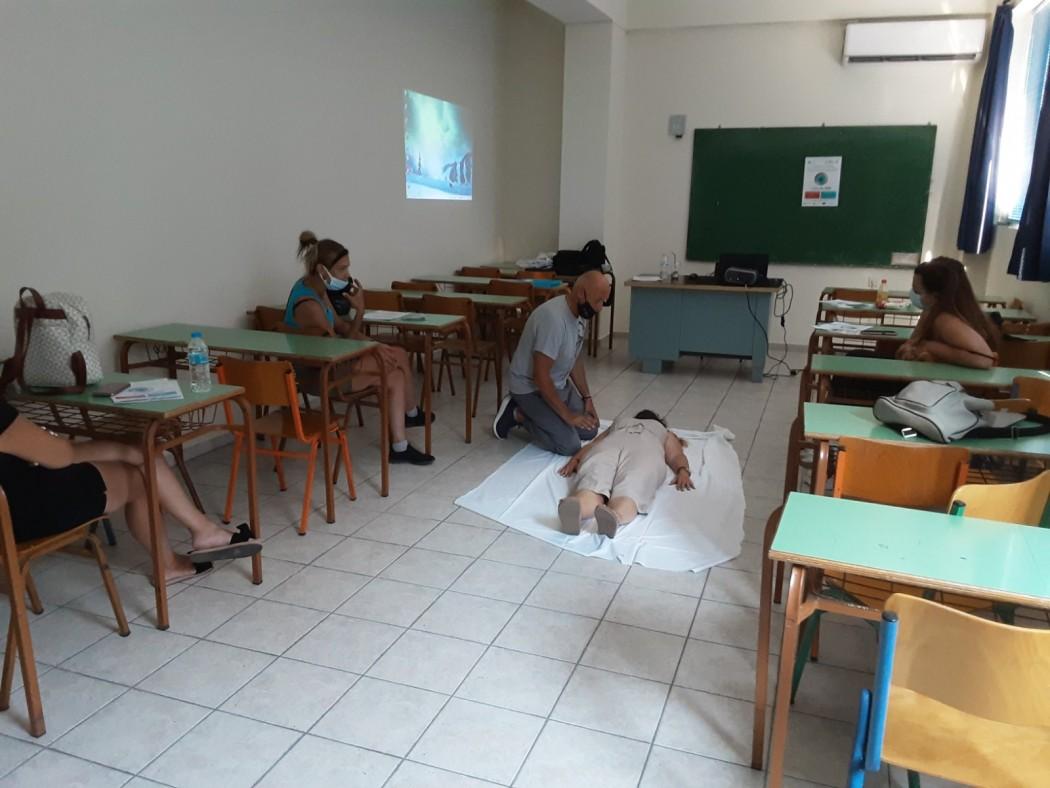 Με επιτυχία ολοκληρώθηκε το διήμερο εκπαιδευτικό σεμινάριο «Ασπίδα Υγείας για Γυναίκα & Παιδί»