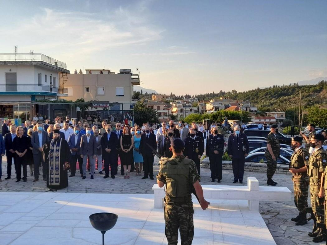 Εκπροσωπήθηκε στις εκδήλωσεις μνήμης για τη μάχη του Πέτα ο Δήμος Μεσολογγίου