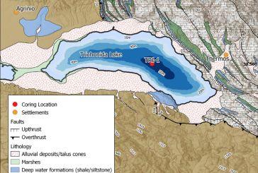 Οι ζώνες βάθους της Τριχωνίδας χαρτογραφημένες