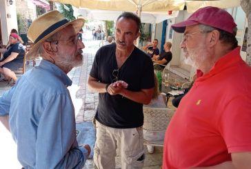 Ο διάσημος φυσικός Σταύρος Κατσανέβας επισκέφθηκε το Μεσολόγγι