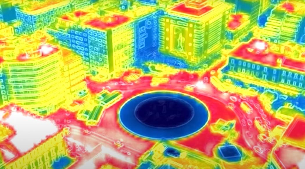 Καύσωνας – meteo: Πήραν «φωτιά» τα τσιμέντα – Απίστευτες θερμοκρασίες στο κέντρο της Αθήνας