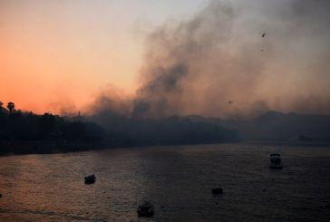 Σε επιφυλακή εξακολουθούν να βρίσκονται σκάφη του Λιμενικού στην Αιγιάλεια