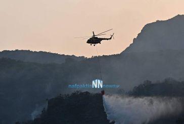Σε ύφεση απ' το βράδυ της Κυριακής η φωτιά στο Παραδείσι Μακρυνείας- Επέστρεψαν σπίτια τους οι κάτοικοι