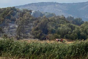 Ξηρόμερο: Φωτιά κοντά στην περιοχή Σουπί