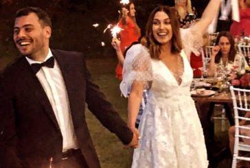 Αγρίνιο: Παντρεύτηκε η γνωστή ηθοποιός Ειρήνη Φαναριώτη τον εκλεκτό της καρδιάς της Κωνσταντίνο Νταλακούρα
