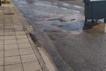 Αγρίνιο: «Ποτάμι» η οδός Ηρακλείτου
