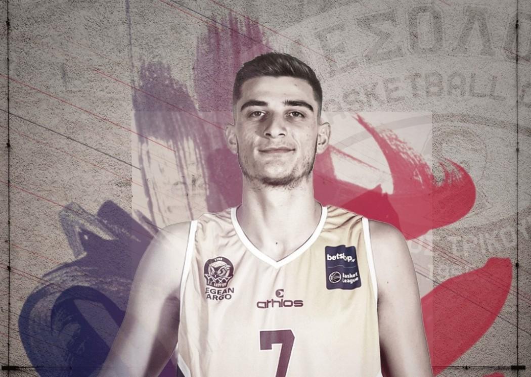 Μπάσκετ: Ανακοίνωσε Λεγκίκα ο Χαρίλαος Τρικούπης
